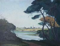 paysage du golfe du morbihan by marcel mettenhoven