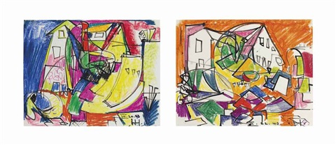 untitled 2 works by hans hofmann