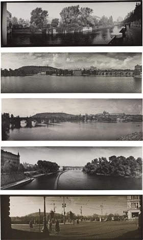 eight panoramic landscapes of prague 8 works by josef sudek