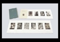 composition de la nuit (portfolio of 11) by tetsuo komai