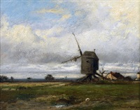 le moulin by jules dupré