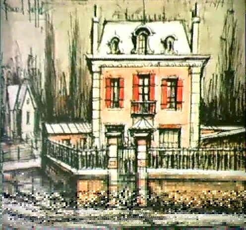 La maison rose le pavillon a metz by bernard buffet on artnet - Eugenie les bains la maison rose ...