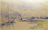 rotterdam by maximilien luce