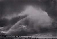 rainbow, waldo, new mexico by william clift