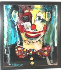 clowngesicht by ernst posch