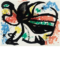 untitled (from album 19) by joan miró