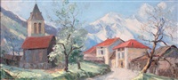 le village d'allevard by etienne albrieux
