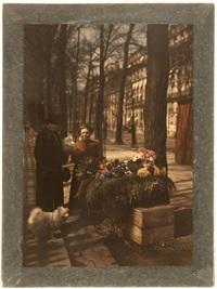 marchands de fruits et légumes. marchandes de fleurs. natures mortes (6 works) by léon gimpel