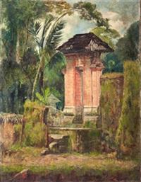 landscape, kori, bali by dullah