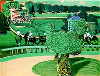 l'hippodrome d'auteuil by jean mablord