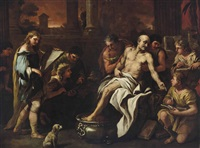 the death of seneca by luca giordano