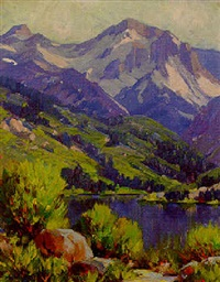 high sierras by william thomas mcdermitt