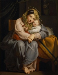 affection et repos (after jos françois) by françois ange