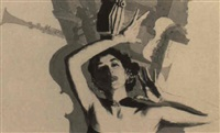 female jazz singer by joseph de mers