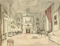 the drawing room, rossana, co. wicklow by maria spilsbury