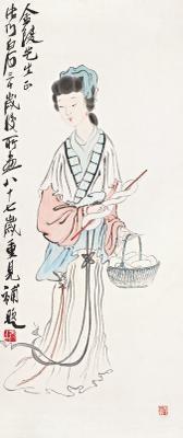 西施 xi shi by qi baishi