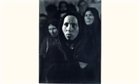 jeune femme au voile noir by marian reismann