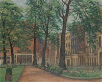 berkeley square (+ london street; pair) by lilian taylor