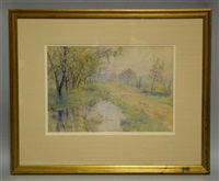 landscape by charles morris young