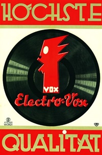 electro vox by posters: music