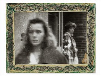 two women, cssr, /80s by miroslav tichý