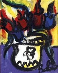 vaso di tulipani by gustavo boldrini