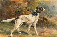 an english setter by edmund henry osthaus