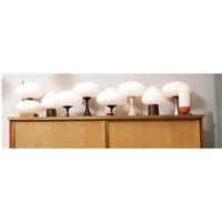 table lamps (various sizes; set of 10) by laurel lamp (co.)