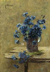 kornblumen by marianne gelmo