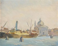 the lagoon, venice by david hone