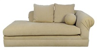 rolled arm giverny chaise sofa by kreiss furnishings