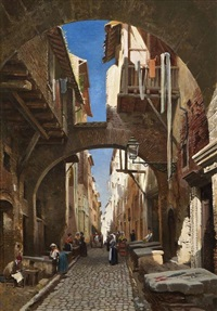 the ghetto, rome by john o'connor