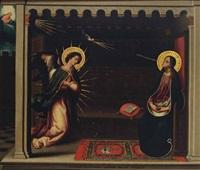the annunciation by cristofano allori