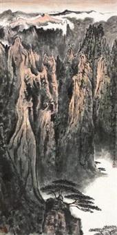 黄山松云 by xu congchu