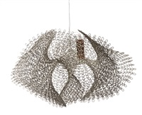 untitled, s.750 (hanging open form with four fluted edges) by ruth asawa