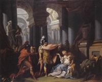 la mort de camille by louis joseph le lorrain