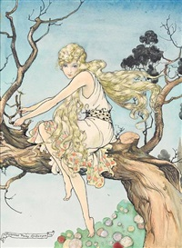 the golden haired maiden by florence anderson