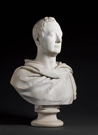 bust of a gentleman by john gibson