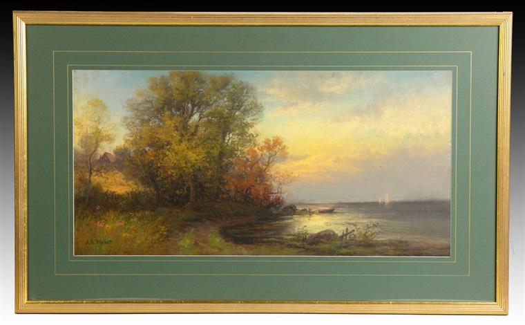 seascape by alexander helwig wyant