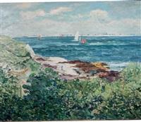 bord de mer, les voiliers en bretagne by maxime maufra