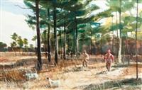 quail hunting by chet reneson