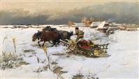 the sledge ride by jaroslav friedrich julius vesin