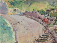 biarritz, south of france by charles demuth