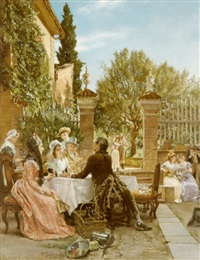the luncheon party by markus frederik steen gronvold