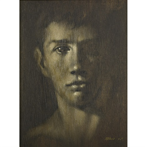 brown portrait head by robert r bliss