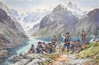 le lac lovitel (massif du peloux), 13e b.c.a by bernard rambaud