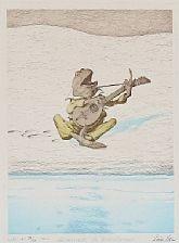 sérénade de printemps and a fairytale scene (2 works) by louis maria niels peder halling moe