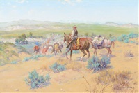 cattle rustlers by olaf c. seltzer
