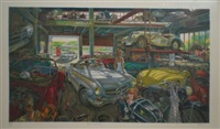 german garage ii by daniel authouart