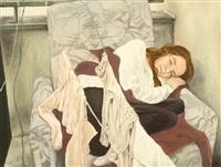 sleep (on the balcony at home) by anca badea